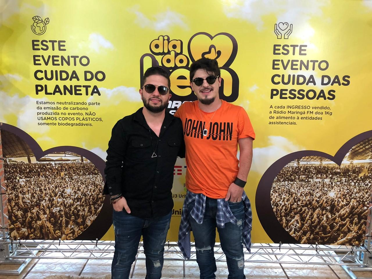 Podcast, Bate Papo, Júnior e Cézar – Dia do Bem Maringá FM